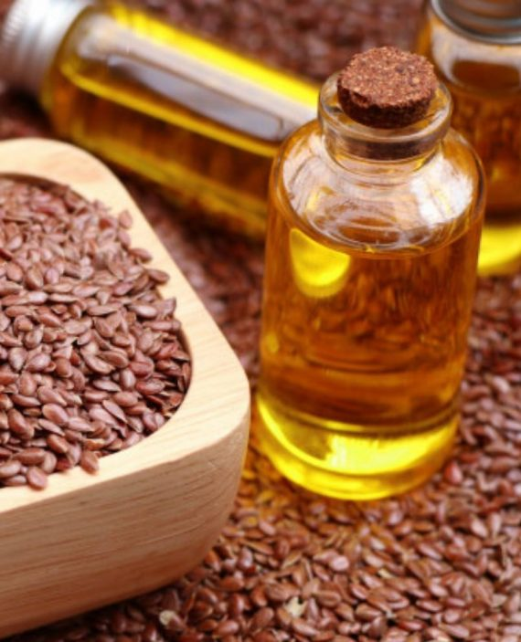 Flax Seed Oil-Raw-Cold pressed-unrefined