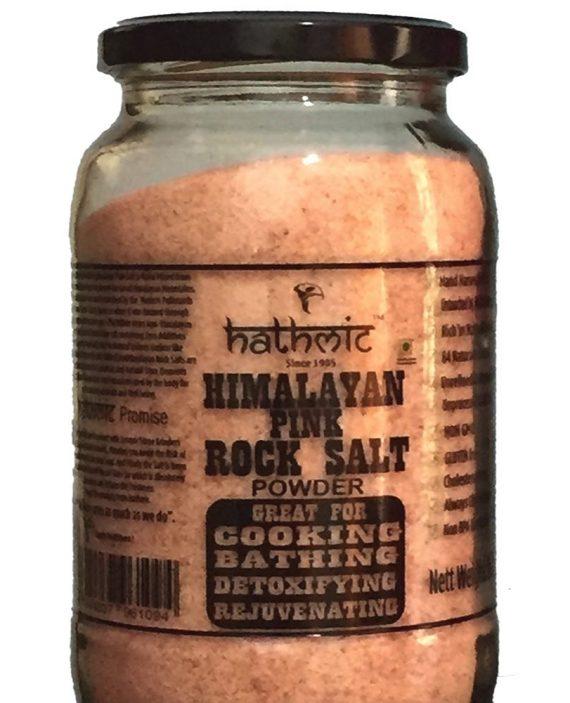 Hathmic Himalayan Pink Rock Salt Powder 1 Kg-1