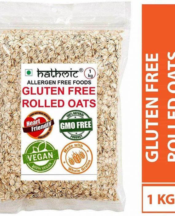 Hathmic Organic Rolled Oats 1kg